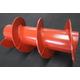 耐摩耗鋼板HARDOX450、HARDOX TUBE:スクリュー 製品画像