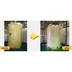 【施工事例】某浄水場 次亜貯留槽の交換工事 製品画像