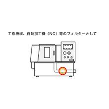 【応用例】工作機械、自動加工機等のフィルター 製品画像