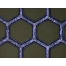 微細加工 ニッケル 六角 トリミング加工 製品画像