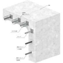 止水製品『弾性アンカーバー(柔構造樋門用スリップバー)』 製品画像