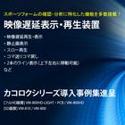 映像遅延装置カコロク導入事例レポート Vol.1 ※無料進呈中! 製品画像