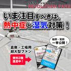 【熱中症対策】工場・倉庫向け大型ファン『リボリューションファン』 製品画像