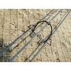 鉄筋3本使いは簡易吹付法枠工 イージーシェルフ工法サンボタイプ 製品画像