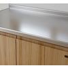 木のシステムキッチンsu:iji(スイージー)のワークトップ 製品画像