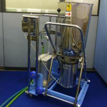 動力は水道水だけ!水圧式の昇降反転機『アクアメイドリフト』 製品画像