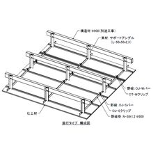OSシーリングSSタイプ耐震準構造化天井下地『OJ型/ND型』 製品画像