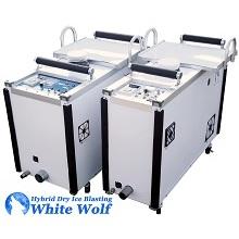 ハイブリッドドライアイスブラスト洗浄機 製品画像