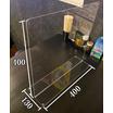 自立型アクリル仕切板 コロナウイルス対策 飛沫感染予防 製品画像