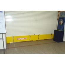 防火・防煙シャッター用安全装置 鋼製パネルTYPE「Sガード」 製品画像