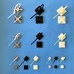 配線固定具『コンベックス ベース』※サンプル進呈 製品画像