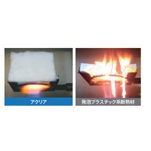 グラスウールの不燃性 製品画像