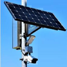監視カメラ SEMI-LED4P-JH3+KER-300BII 製品画像