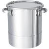 鏡板型ステンレス密閉容器(クリップ式) 【DT-CTH】 製品画像