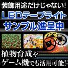 【サンプル進呈】機械や装置の組込みに最適なLEDテープライト 製品画像