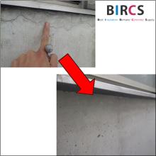 コンクリートクラック注入・表面被覆工法『Sクリートクラック工法』 製品画像