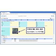 検査チェックシートシステム 製品画像