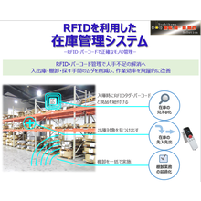 RFIDを利用した在庫管理システム 製品画像