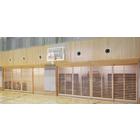 木製防球格子戸 製品画像