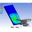 液晶タッチパネルのシミュレーション 製品画像