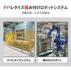 デパレタイズ積み付けロボットシステム 製品画像