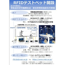 RFIDテストベッド施設(大型電波暗室とRFID専用評価設備) 製品画像