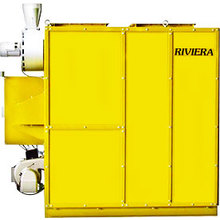 ガス使用で省エネを実現!工場向け高温風暖房システム『リビエラ』 製品画像