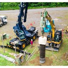 小型重機を用いた岩盤掘削技術『MAX工法』 製品画像