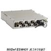 MilDef社 堅牢1Uスイッチ ESW400シリーズ 製品画像