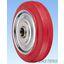 鋼板製ポリブタジェン赤ゴム車輪(SRタイプ) 製品画像