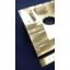 アルミA6063 切削加工 ブロック 開発 提案 コスト 大阪 製品画像