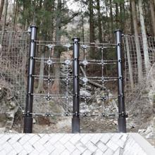 小規模渓流向け杭式土石流・流木対策工『アーバンガード』 製品画像