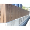 木材製品利用促進の為の緊急支援助成金制度を利用した外構材整備 製品画像