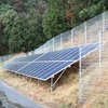 施工実績『メガソーラー太陽光発電所外周フェンス』京都府2015年 製品画像