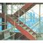 鉄骨階段用仮設手摺り『テスリーナ』 製品画像