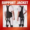 使いやすいアシストスーツ『サポートジャケットBb+PROII』 製品画像