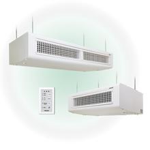 室内直接加湿・天吊型 滴下浸透気化式加湿器 VTDタイプ 製品画像