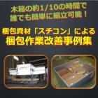 【事例集プレゼント!】梱包資材『スチコン』による梱包作業改善! 製品画像