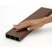 【木調】木粉樹脂・アルミ複合材クラティスエコのメンテナンス性 製品画像