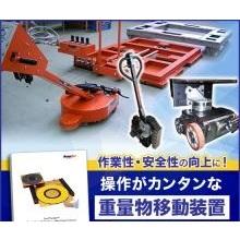 エアキャスターをはじめとする重量物移動装置のご紹介 製品画像