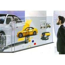 LG 透過OLEDサイネージ(透明有機ELサイネージ) 製品画像