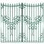 デザイン フェンス IMMORTAL アルミ鋳物製Vプロセス鋳造 製品画像