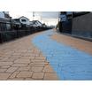 【事例集】ストリートプリント 景観配慮区域施工 製品画像