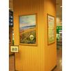 【ポスターグリップ導入事例】JR大宮駅みどりの窓口 製品画像