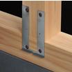 現場作業の効率化に!柱金物に面材施工の補助機能を合わせた新製品! 製品画像