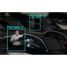 侵入者検知AI監視カメラ 製品画像