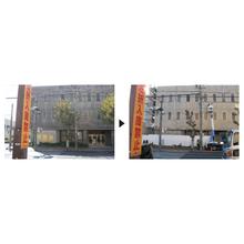 【スペースショット導入事例】外壁 磁器タイルの重度複合汚染 製品画像