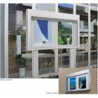 掲示板(アルミ)上下スライドタイプ『PKA-U型/自立・壁付』 製品画像