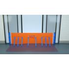 止水フェンス「フラッシュウォール」吸盤式とブラケット式 製品画像