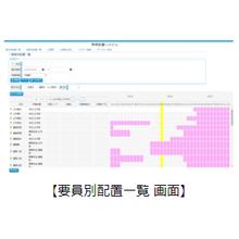 【デモ可能】JCC要員配置 製品画像